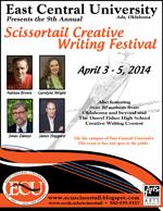 scissortail creative writing festival 2013
