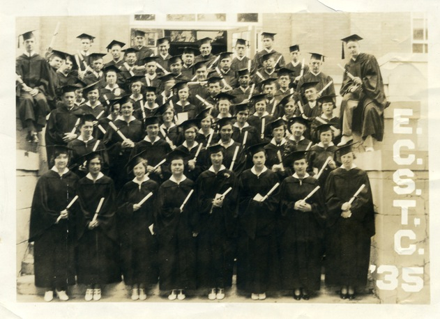1935, Graduating Class(during the great depression)