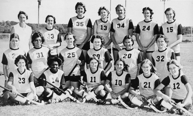 Women's Field Hockey Team, 1977.