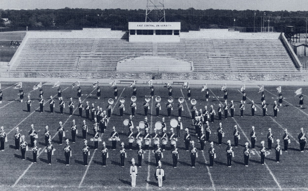 East Central University Tiger Band, 1986.