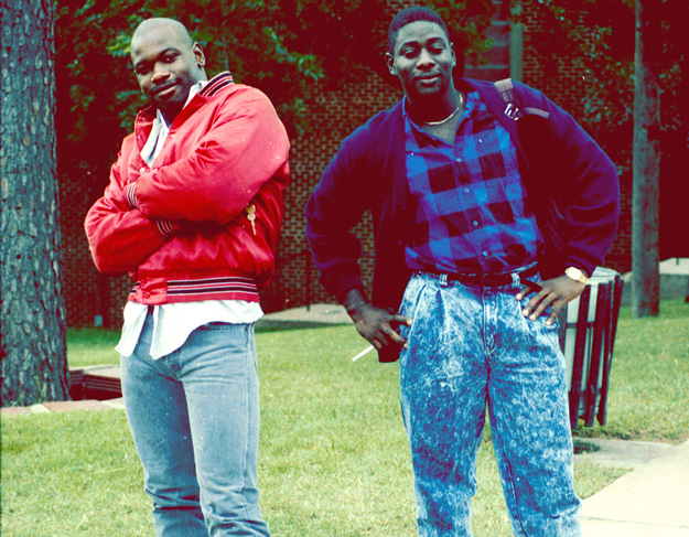"Acid Wash Jeans. ""Rodney Dindy and Allan Jones"""