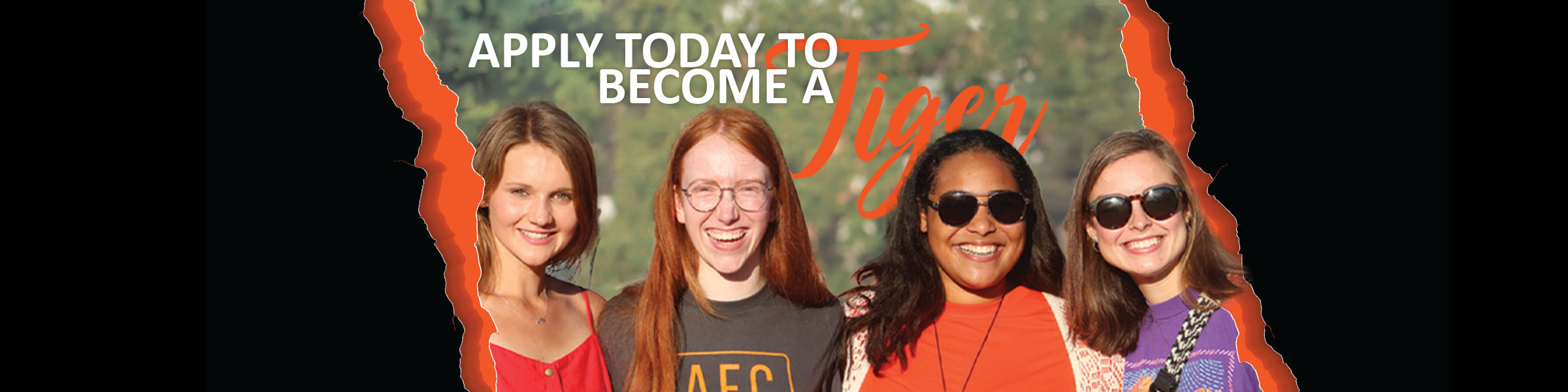 Apply today to be a tiger