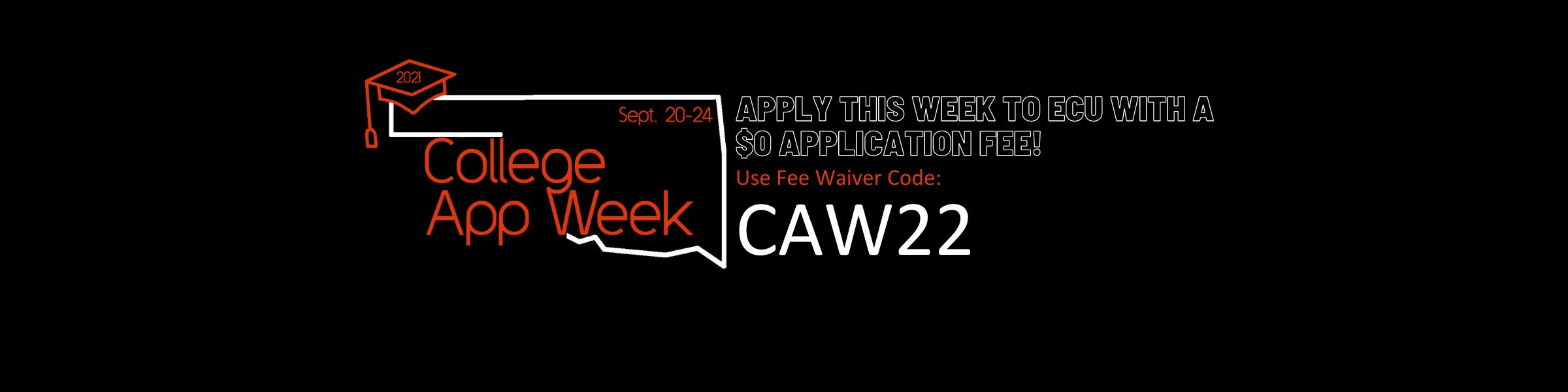 College App Week SLider