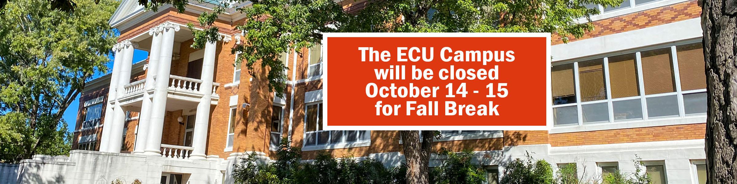 Fall Break Closure