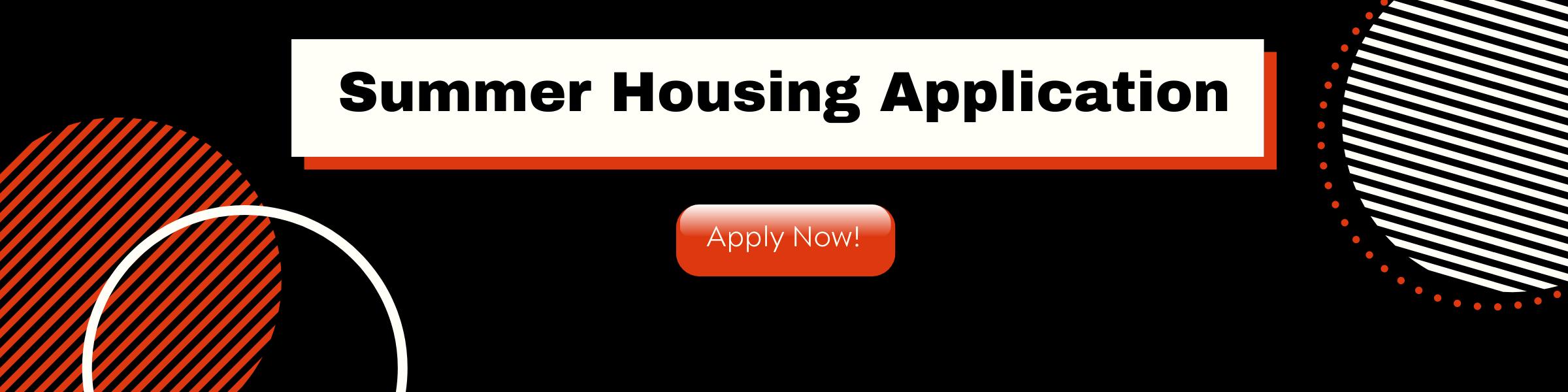 Summer Housing App