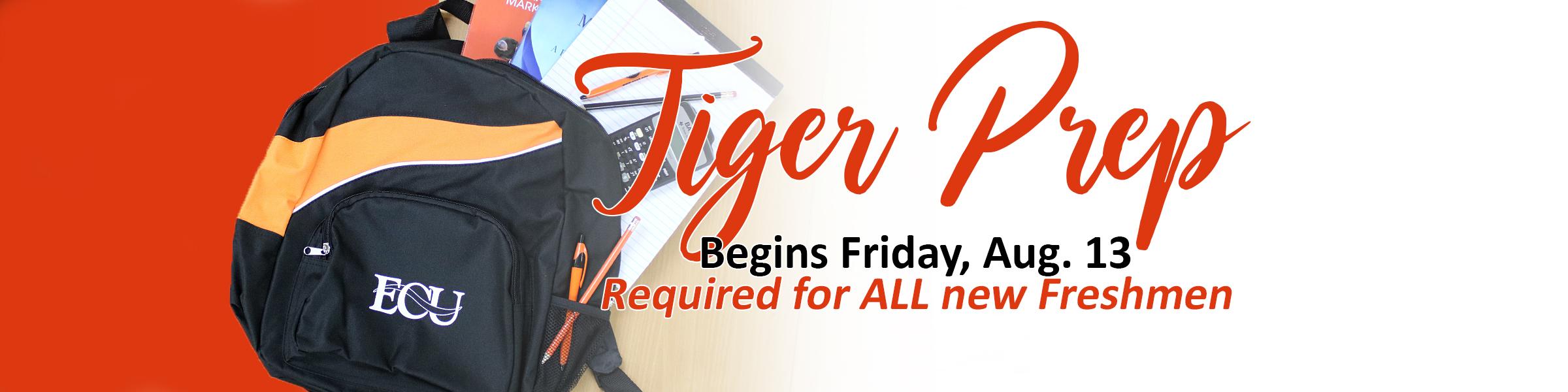 Tiger Prep slider