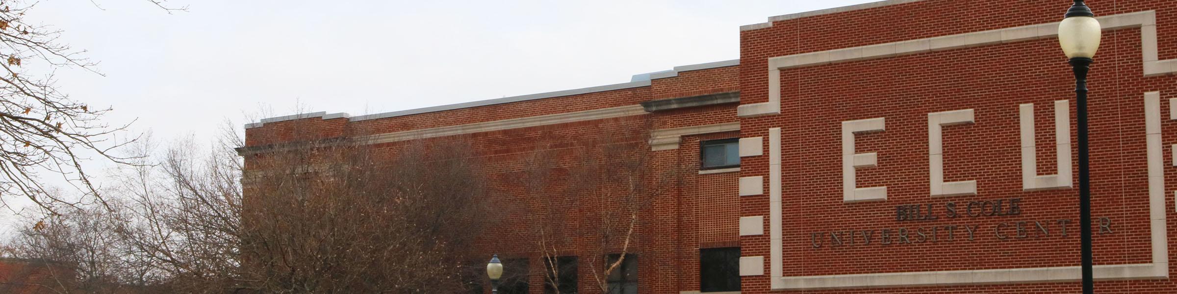 University Center Banner
