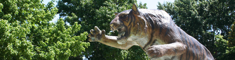 tiger fountain
