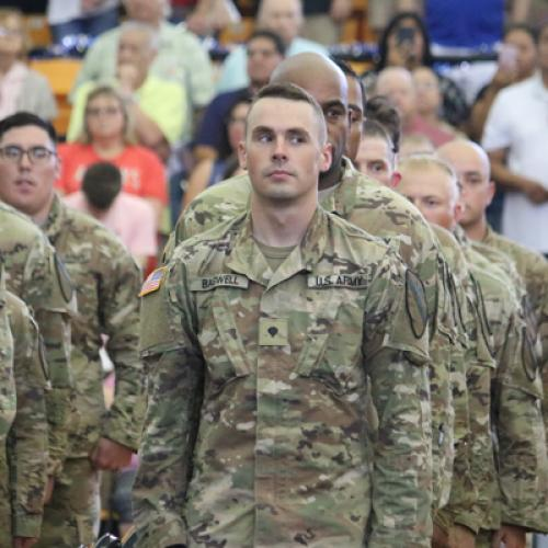 National Guard Send off