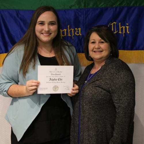 Alpha Chi Induction