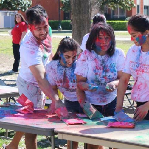 Holi Festival of Colors Asian Student Association