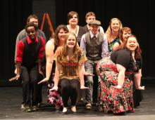 photo of Cabaret cast