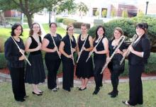 Group photo of Flute Choir