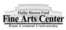 logo for the Hallie Brown Ford Fine Arts Center