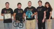 Photo of Robotics Team