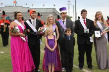 Winners of Homecoming King & Queen
