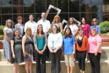 Photo of the newly hired faculty