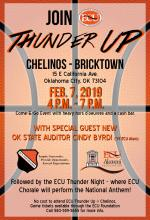 Thunder Up Night set for Feb. 7