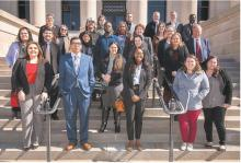 ECU Students Visit State Capitol for Higher Ed Day