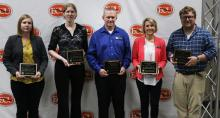 Five Receive Teaching Excellence Awards
