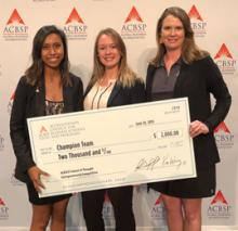 Students Win International Pitch Competition