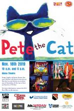 """Pete the Cat"" comes to ECU on Nov. 18."