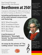 Beethoven at 250 flyer