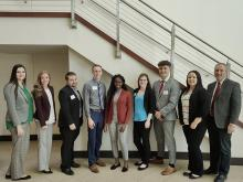 Members of ECU's Society for Human Resource Management chapter