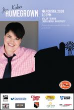 """Jen Kober: Homegrown"" comes to ECU March 5."