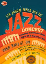 "Fifth annual ""Punch and Pie Jazz Concert"""
