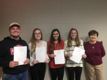 Students earn exchange degrees