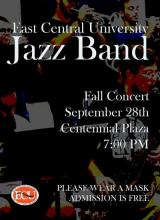 ECU Jazz Band concert
