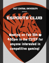 Esports Club Meeting Flyer