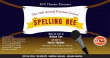 """25th Annual Putnam County Spelling Bee"" Feb. 13, 14 & 15, 2020, 7:30 p.m.  Ataloa Theatre Hallie Brown Ford Fine Arts Center"